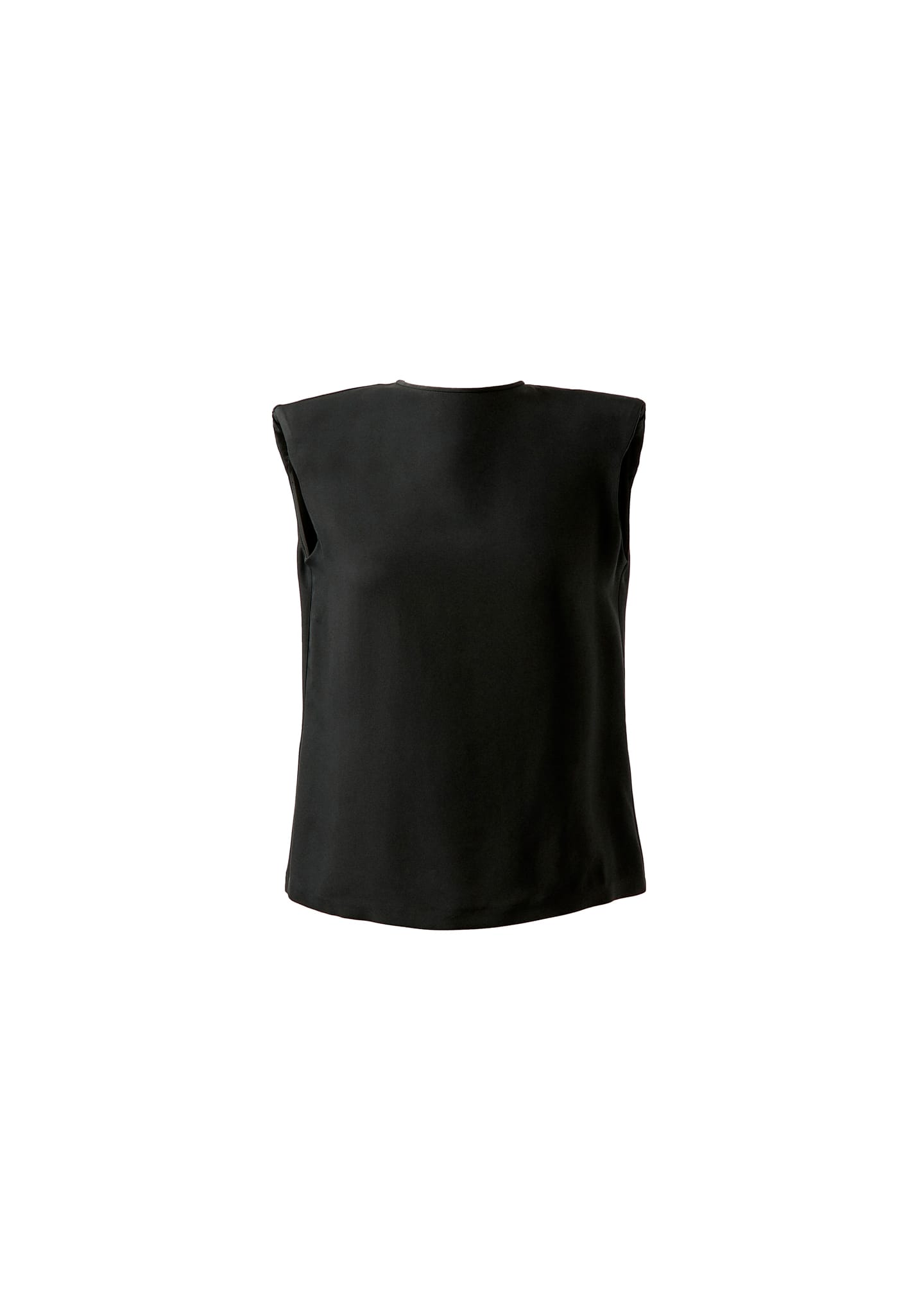 PADDED SHOULDERS TOP