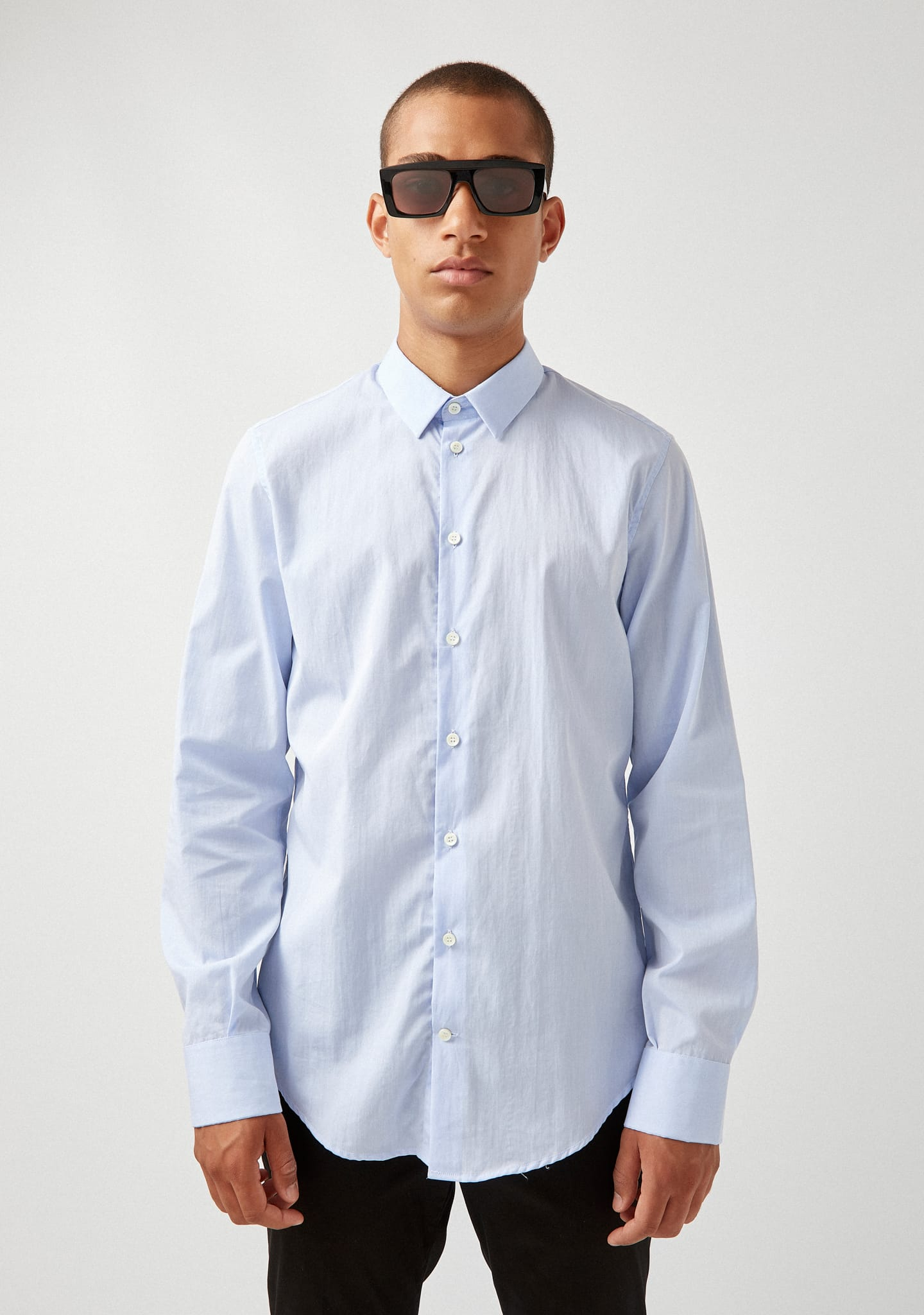 Gafas SLIM FIT COTTON-POPLIN SHIRT Color 0