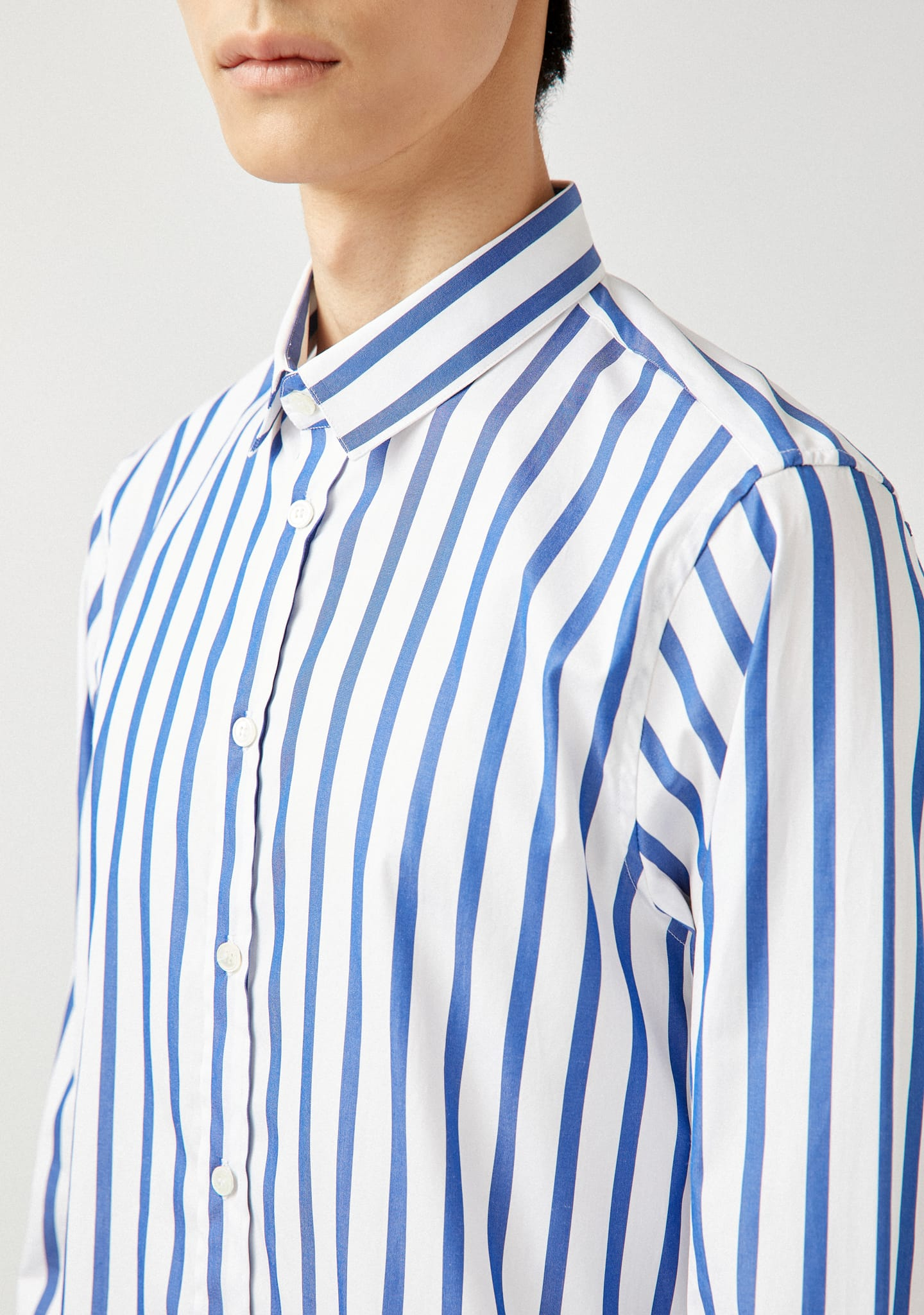 Gafas STRIPED COTTON-POPLIN SHIRT Color 0