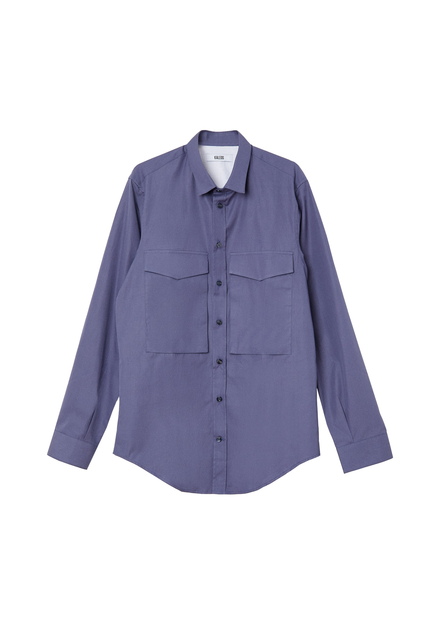 TWO POCKETS COTTON SHIRT