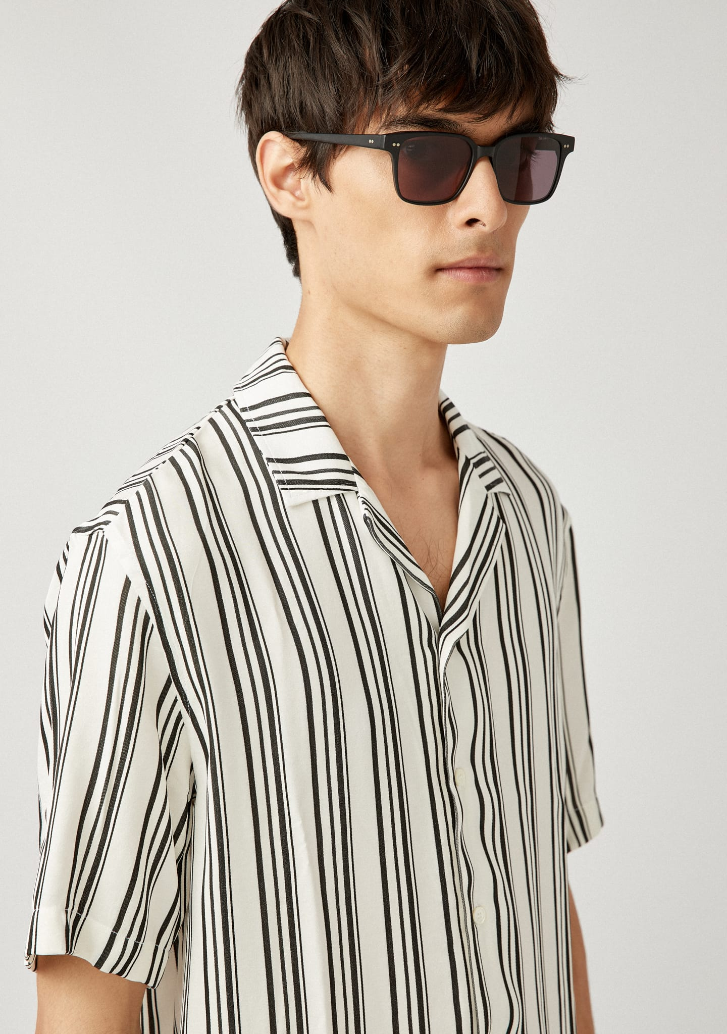 Gafas CAMP COLLAR SHORT SLEEVED SHIRT Color 0