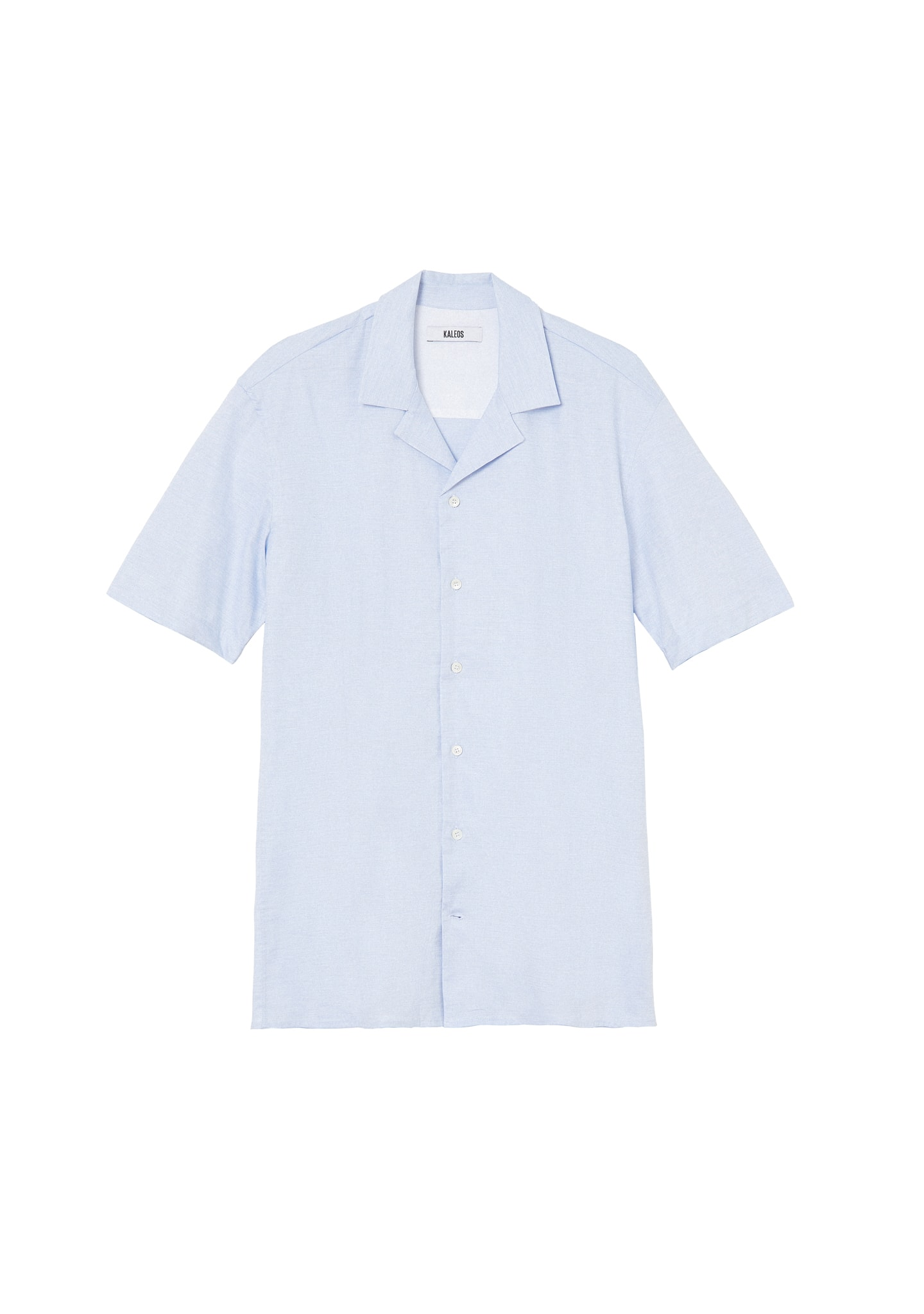 CAMP COLLAR SHORT SLEEVED SHIRT
