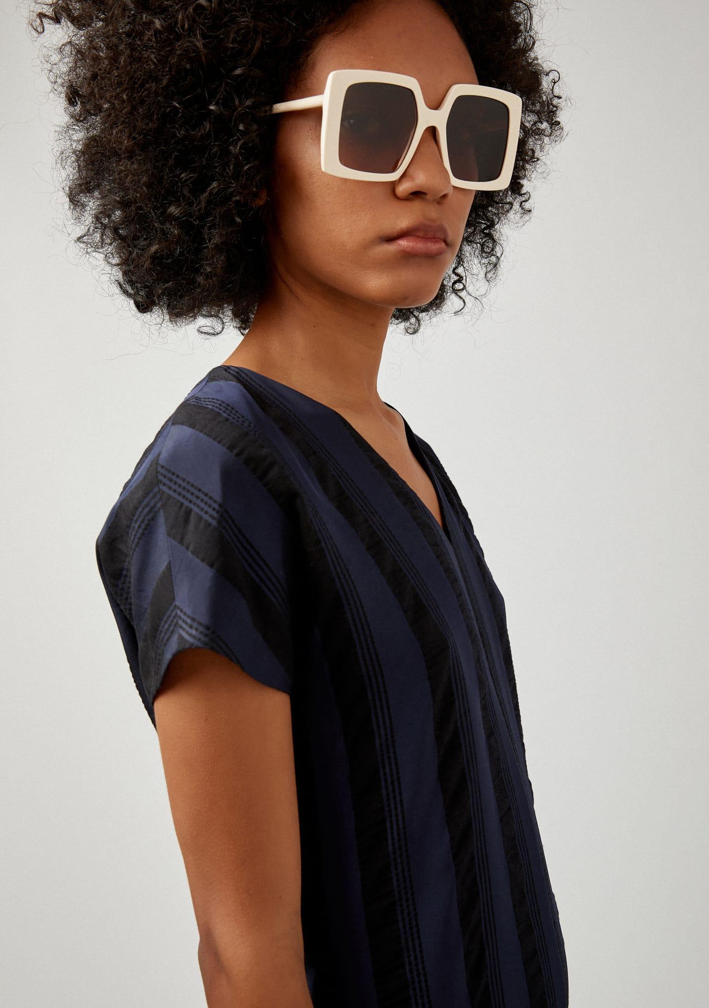 Gafas STRIPED MIDI DRESS Color 0