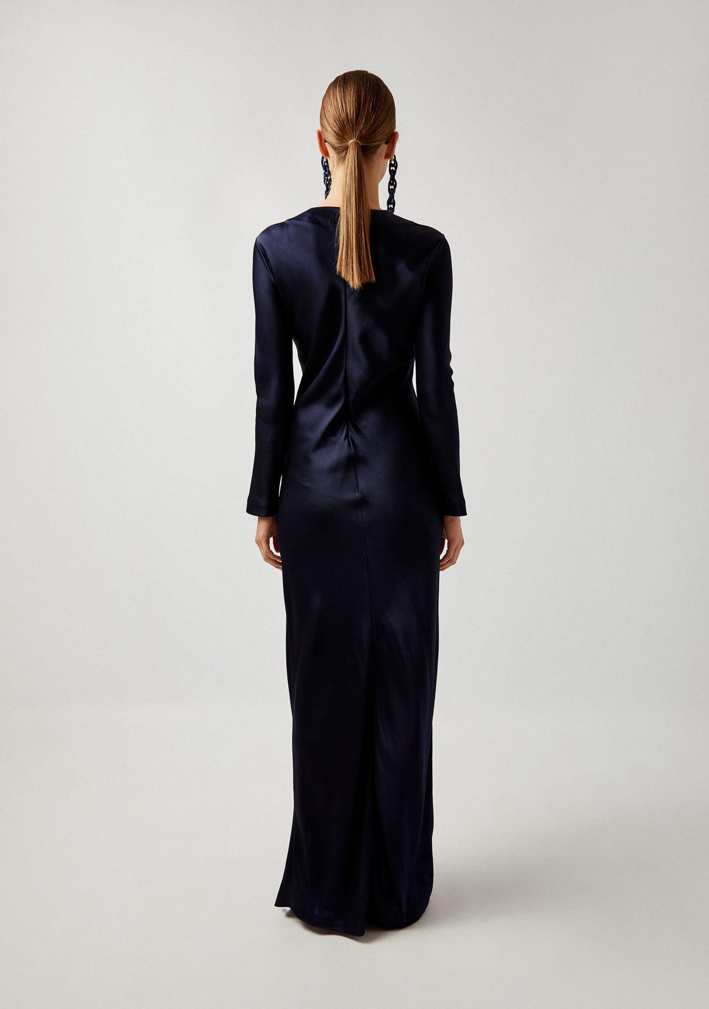 Gafas LONG SLEEVED MAXI DRESS Color 0