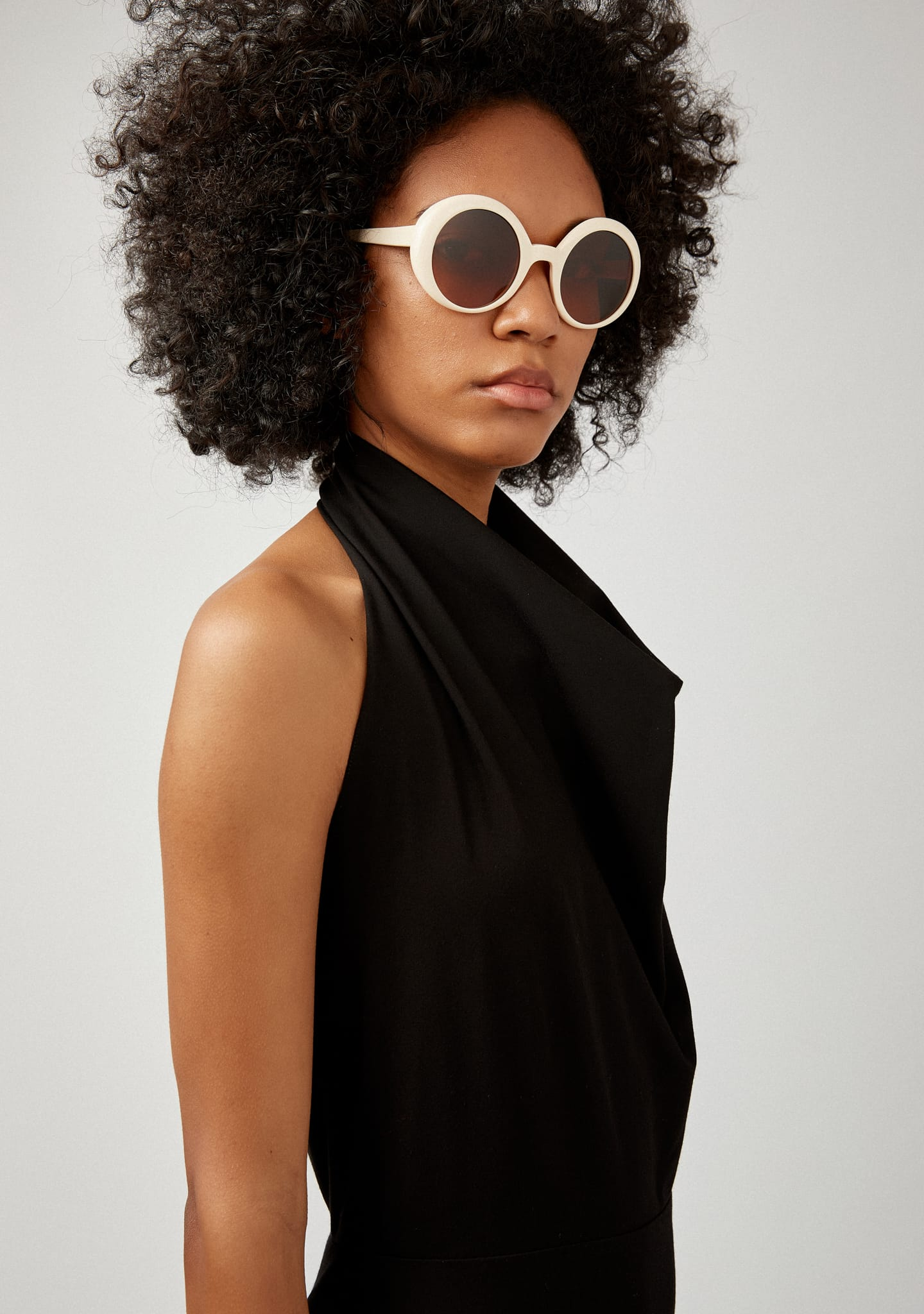 Gafas HALTERNECK MIDI DRESS Color 0