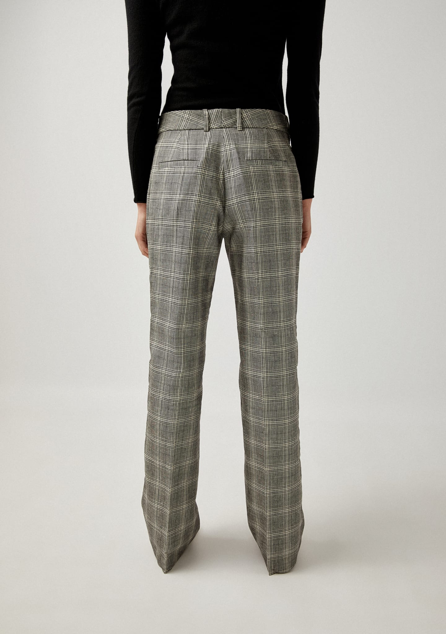Gafas CHECKED STRAIGH-LEG PANTS Color 0