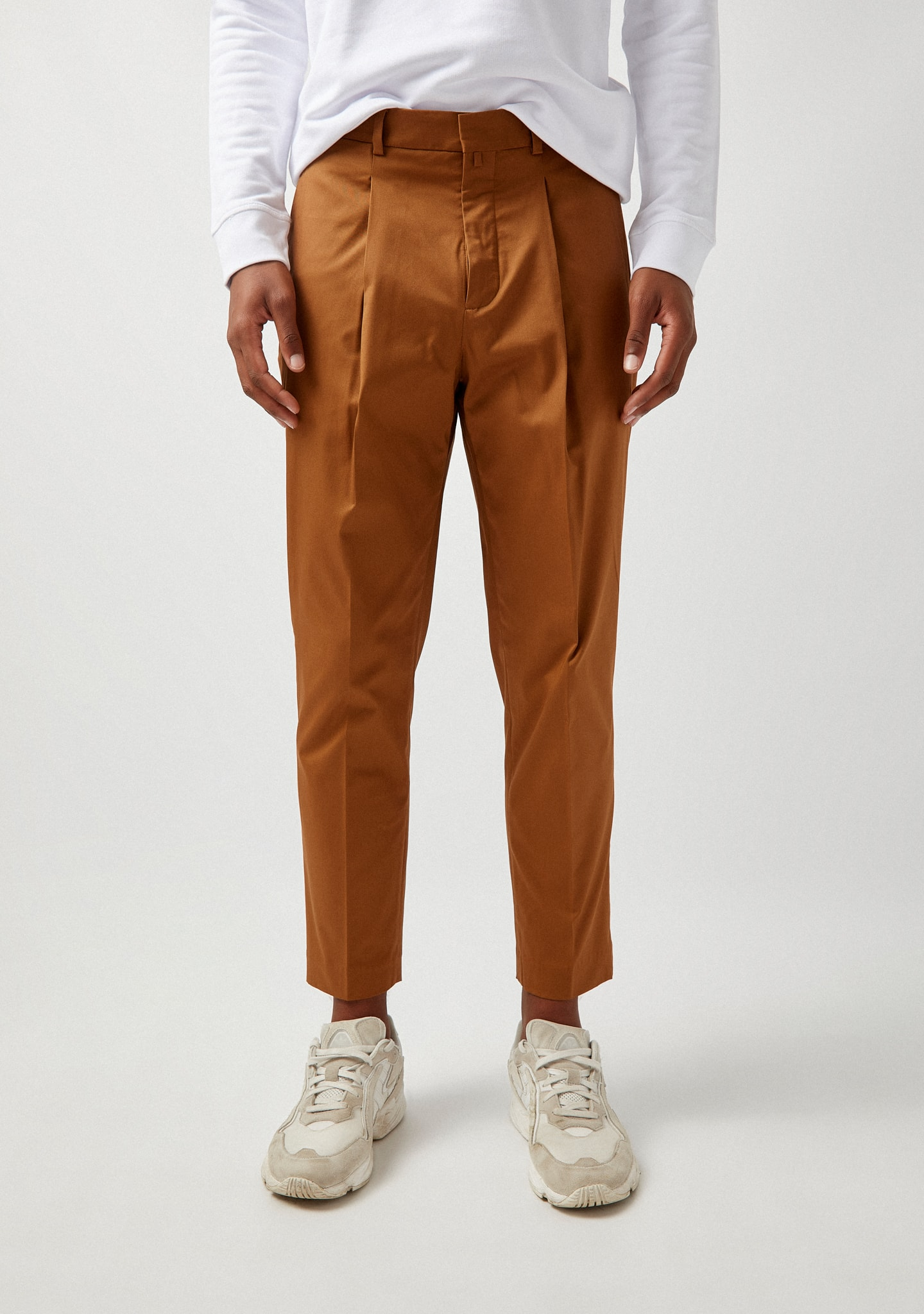 Gafas PLEATED COTTON TROUSERS Color 0