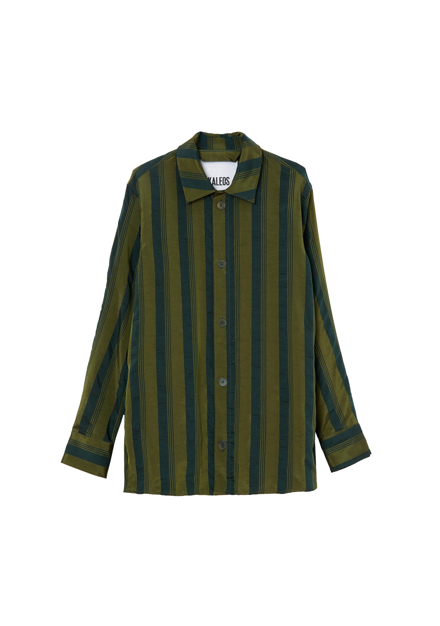 STRIPPED OVERSHIRT