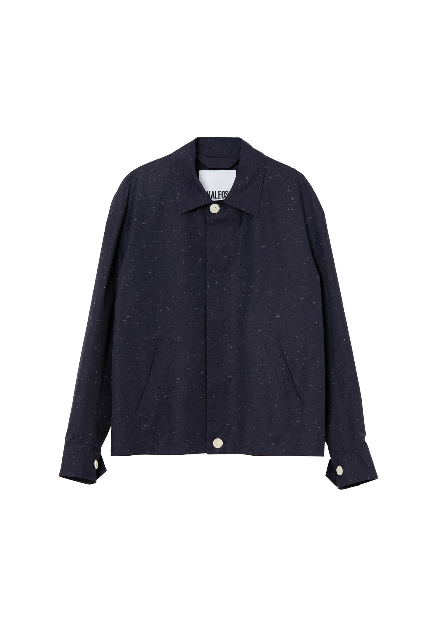 CONTRAST BUTTON JACKET