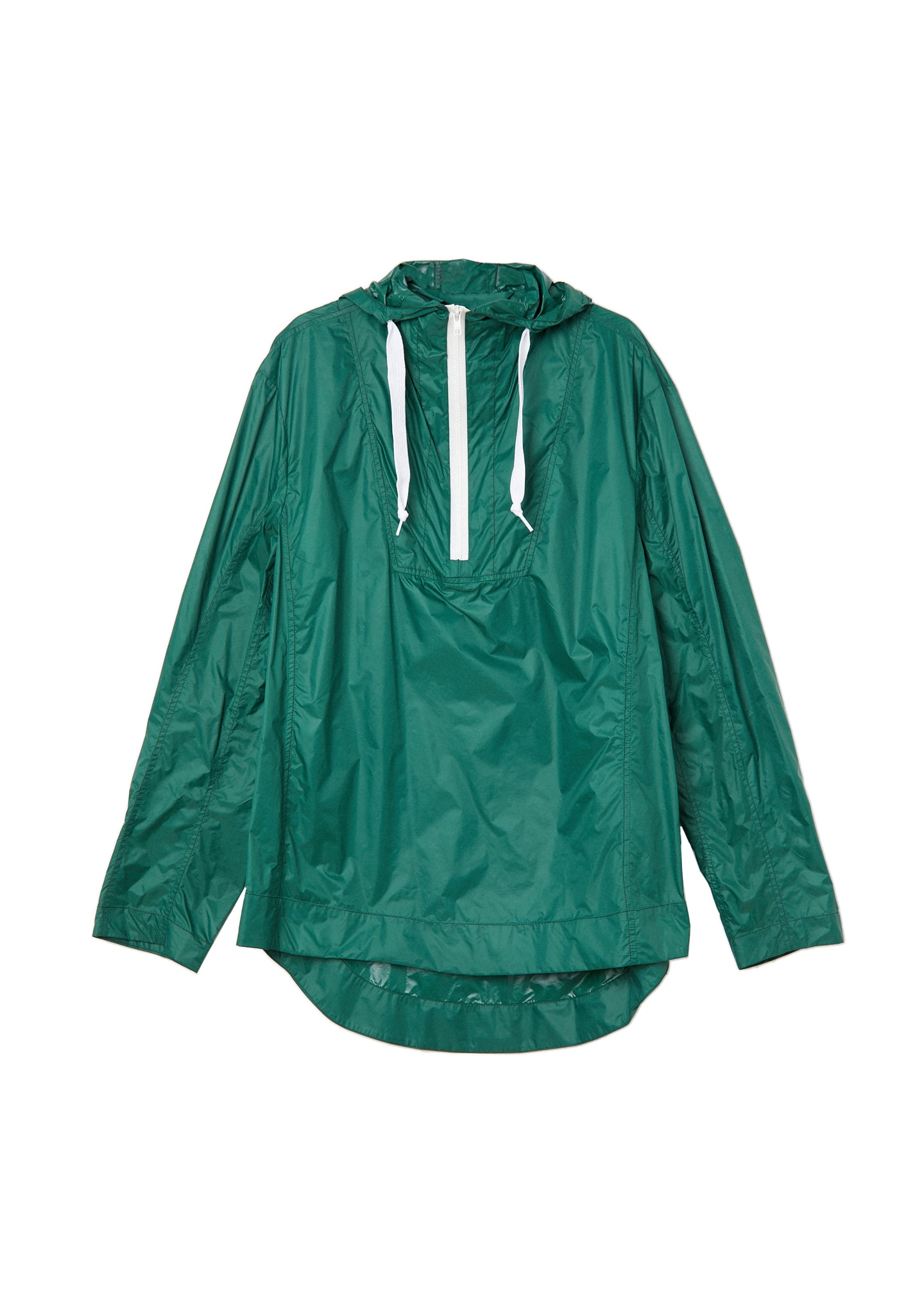 NYLON HALF ZIP JACKET