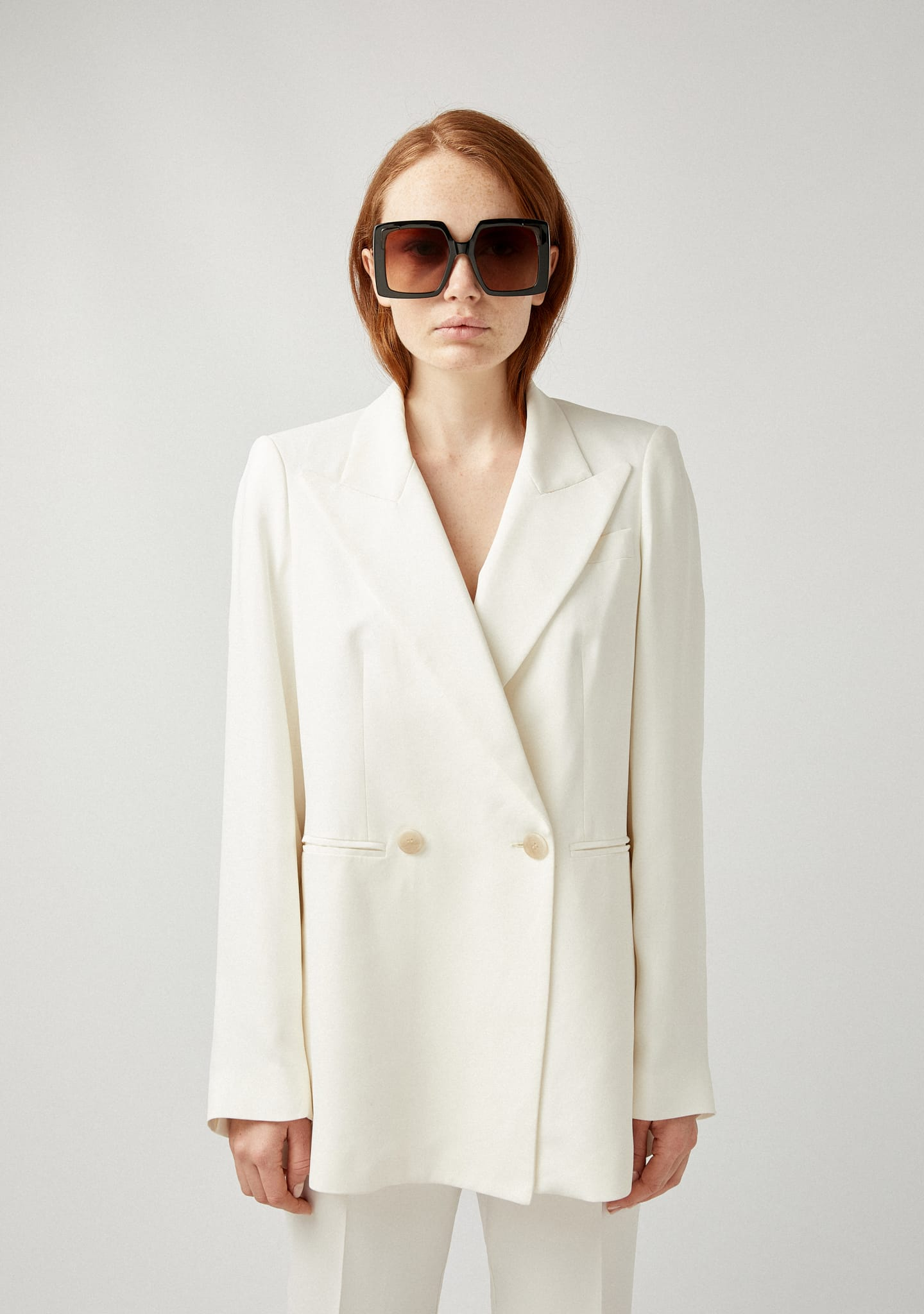 Gafas OVERSIZED DOUBLE-BREASTED BLAZER Color 0