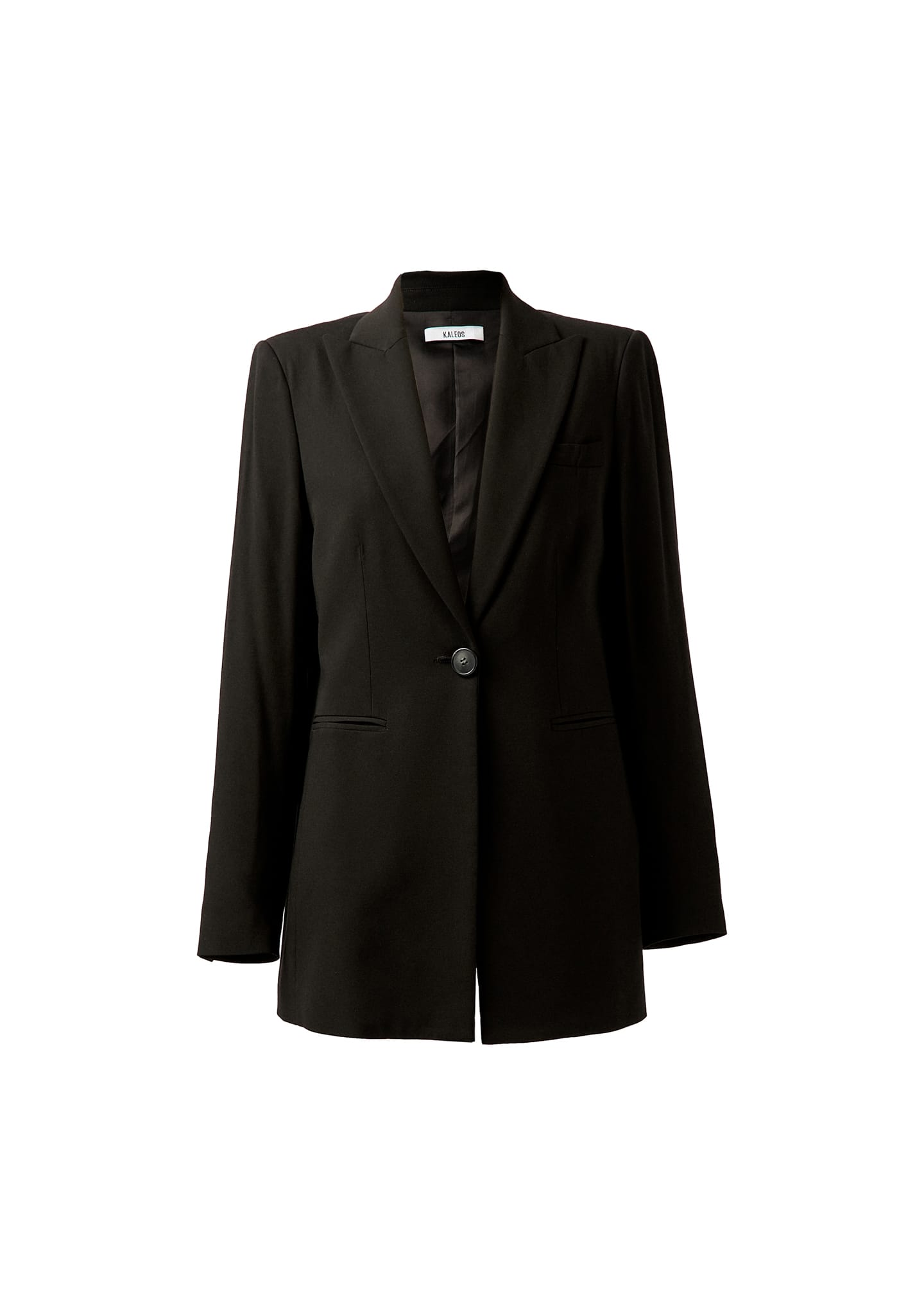 LONG CREPE BLAZER
