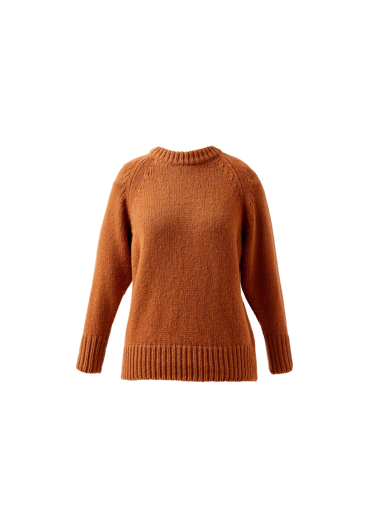 WOOL-CASHMERE MOCK-NECK SWEATER