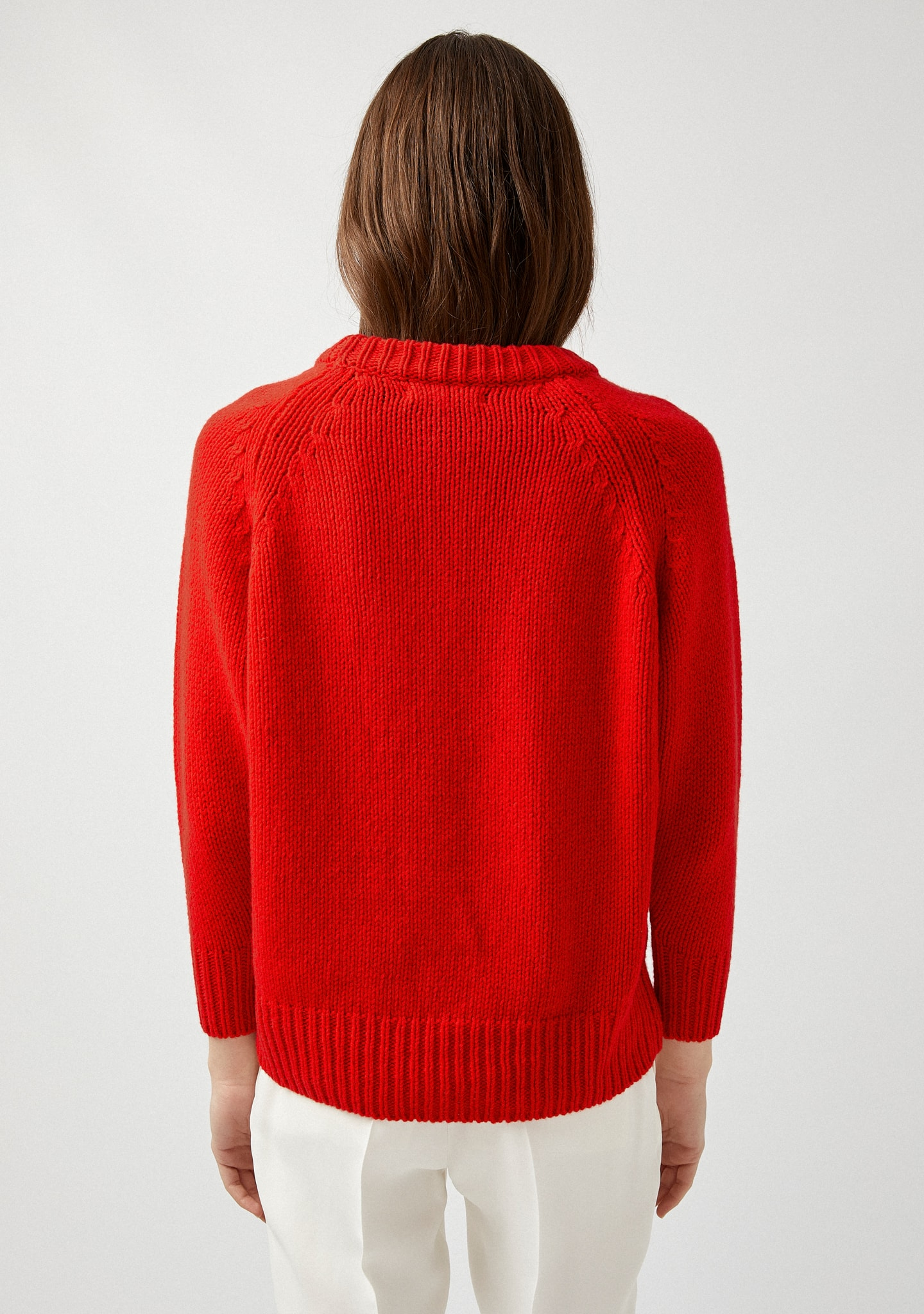 Gafas WOOL-CASHMERE MOCK-NECK SWEATER Color 0