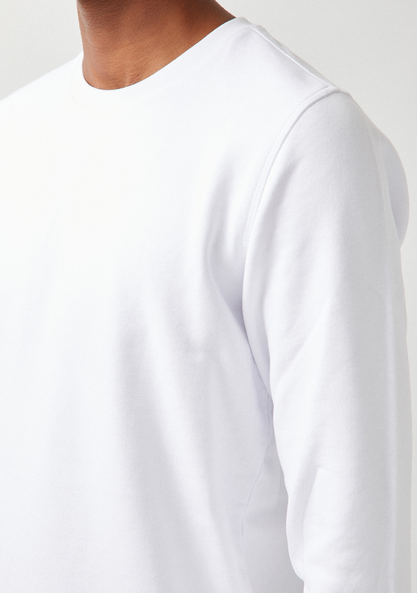 Gafas THIN COTTON-JERSEY SWEATSHIRT Color 0