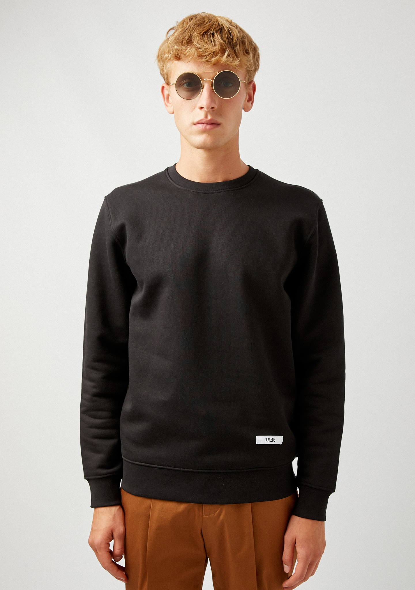 Gafas THICK COTTON-JERSEY SWEATSHIRT Color 0